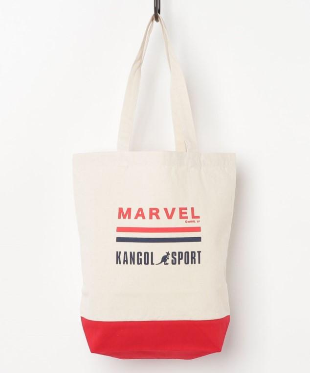 MARVEL マーベル×カンゴールスポーツ トートバッグ