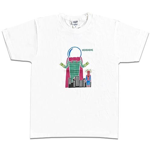 MARVEL マーベル スパイダーマン イラストTシャツ