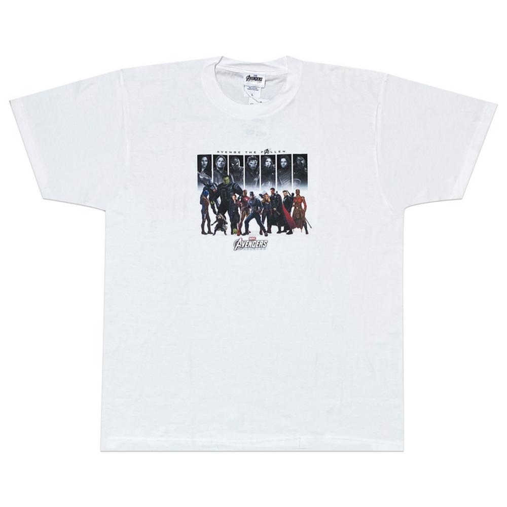 MARVEL マーベル アベンジャーズ エンドゲーム 集合 Tシャツ/M