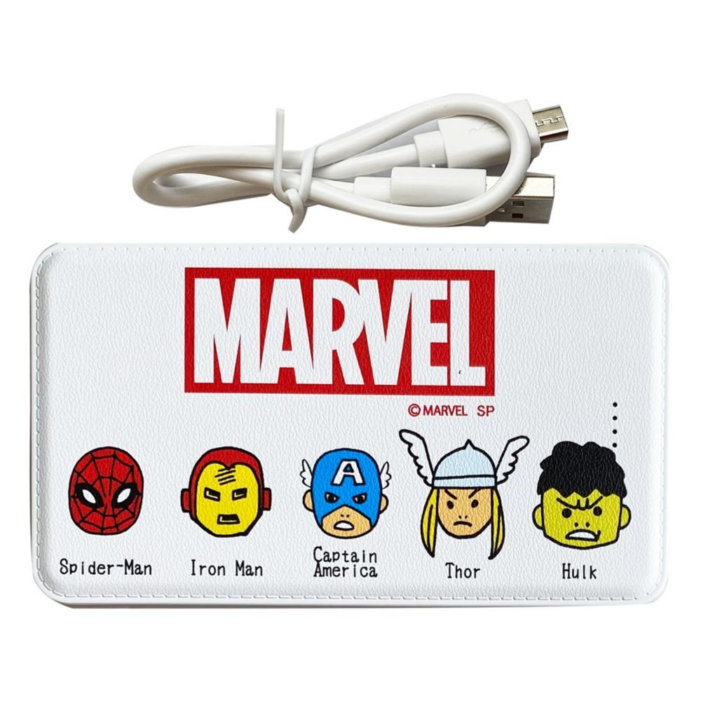 MARVEL マーベル ヒーローズ モバイルバッテリー