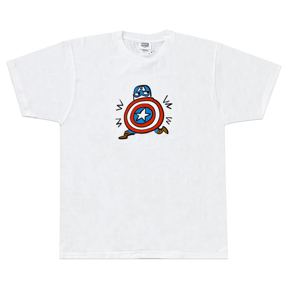 MARVEL マーベル 手書き風 アイアンマン Tシャツ