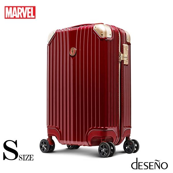 【deseno】マーベル アイアンマン スーツケース ジッパータイプ
