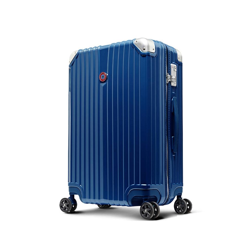 【deseno】マーベル キャプテンアメリカ スーツケース ジッパータイプ