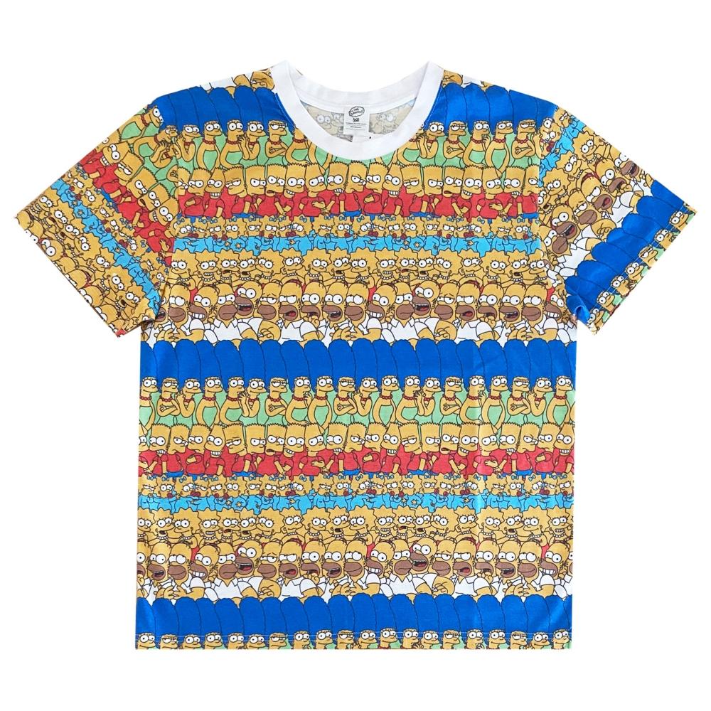 シンプソンズ Tシャツ ファミリー パターン