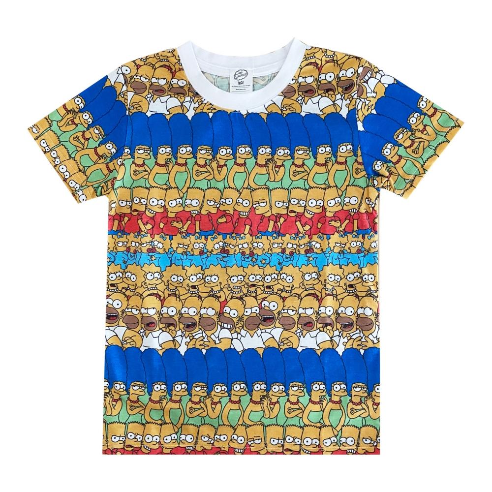シンプソンズ KIDS Tシャツ ファミリー パターン