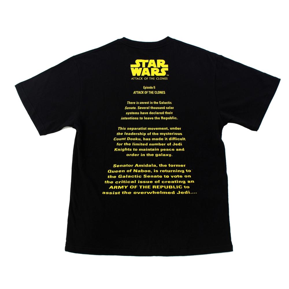 『スター・ウォーズ エピソード2/クローンの攻撃』/オープニングクロールTシャツ