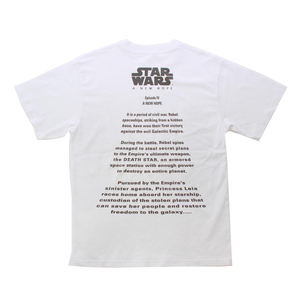 『スター・ウォーズ エピソード4/新たなる希望』/オープニングクロールTシャツ