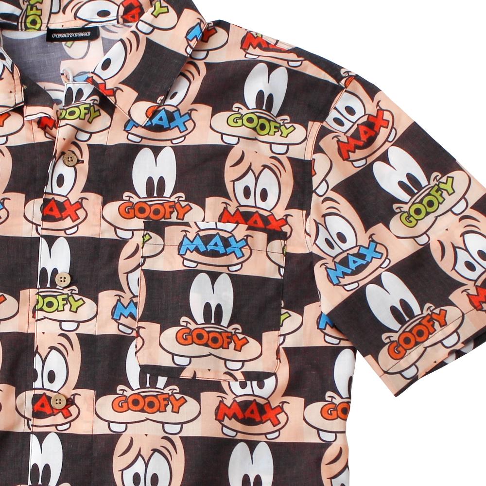 グーフィー&マックス/アロハシャツ