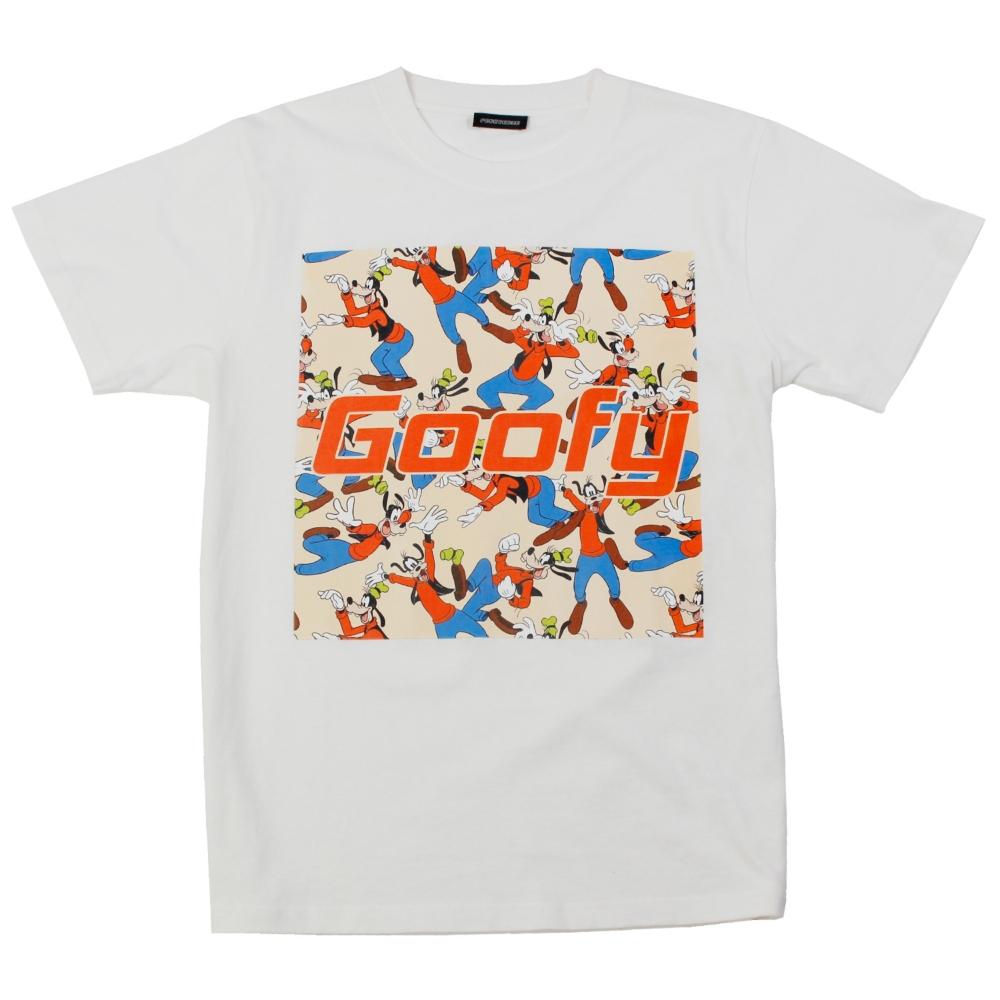 グーフィー/柄プリントTシャツ