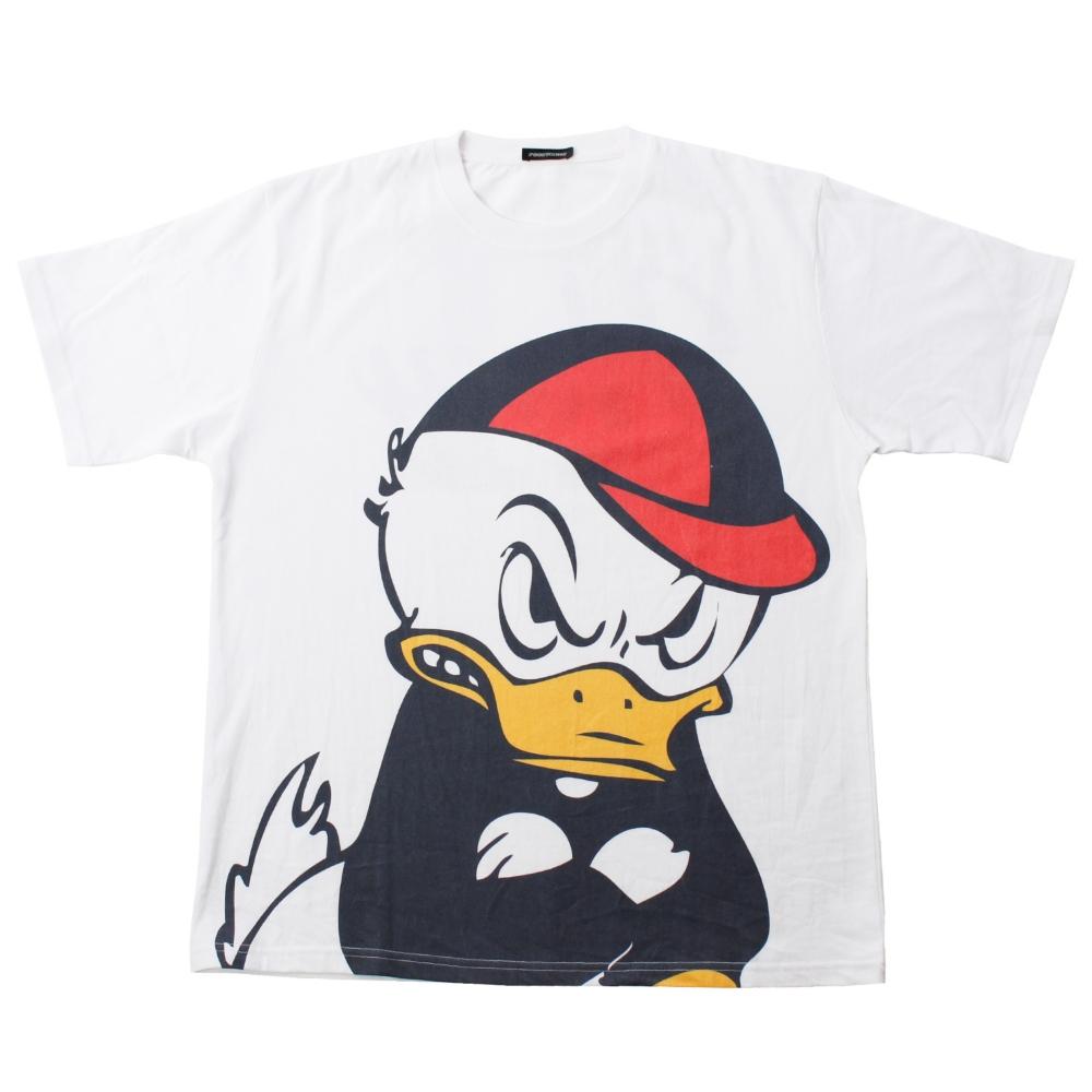 ヒューイ/BIGプリントTシャツ