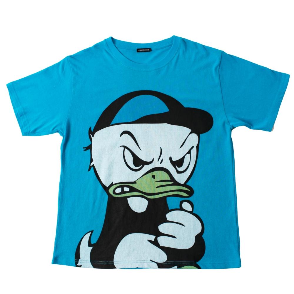 デューイ/BIGプリントTシャツ