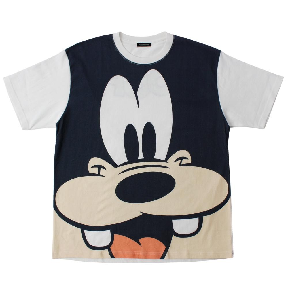 グーフィー/ビッグフェイスTシャツ