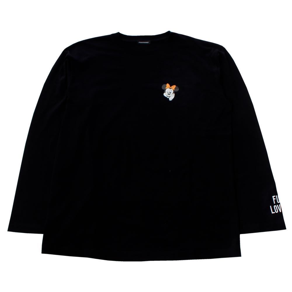 ミニーマウス/ロングスリーブTシャツ