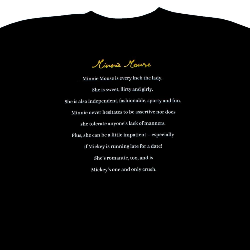ミニーマウス/Tシャツ