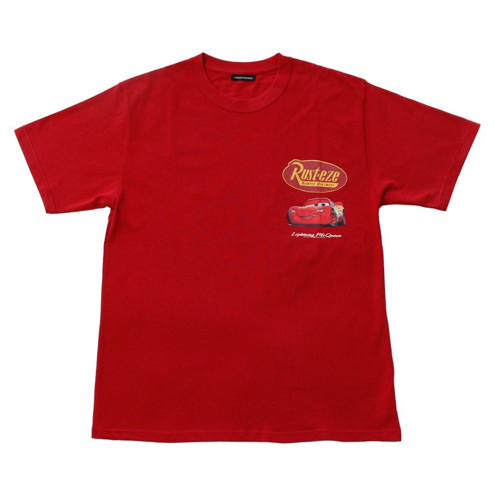 カーズ/ライトニング・マックィーン Rust-eze/Tシャツ