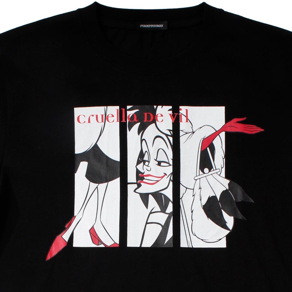 101匹わんちゃん/クルエラ/Tシャツ