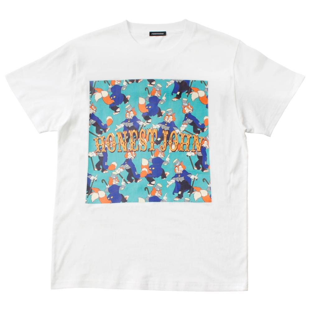 ピノキオ/正直ジョン/柄プリントTシャツ