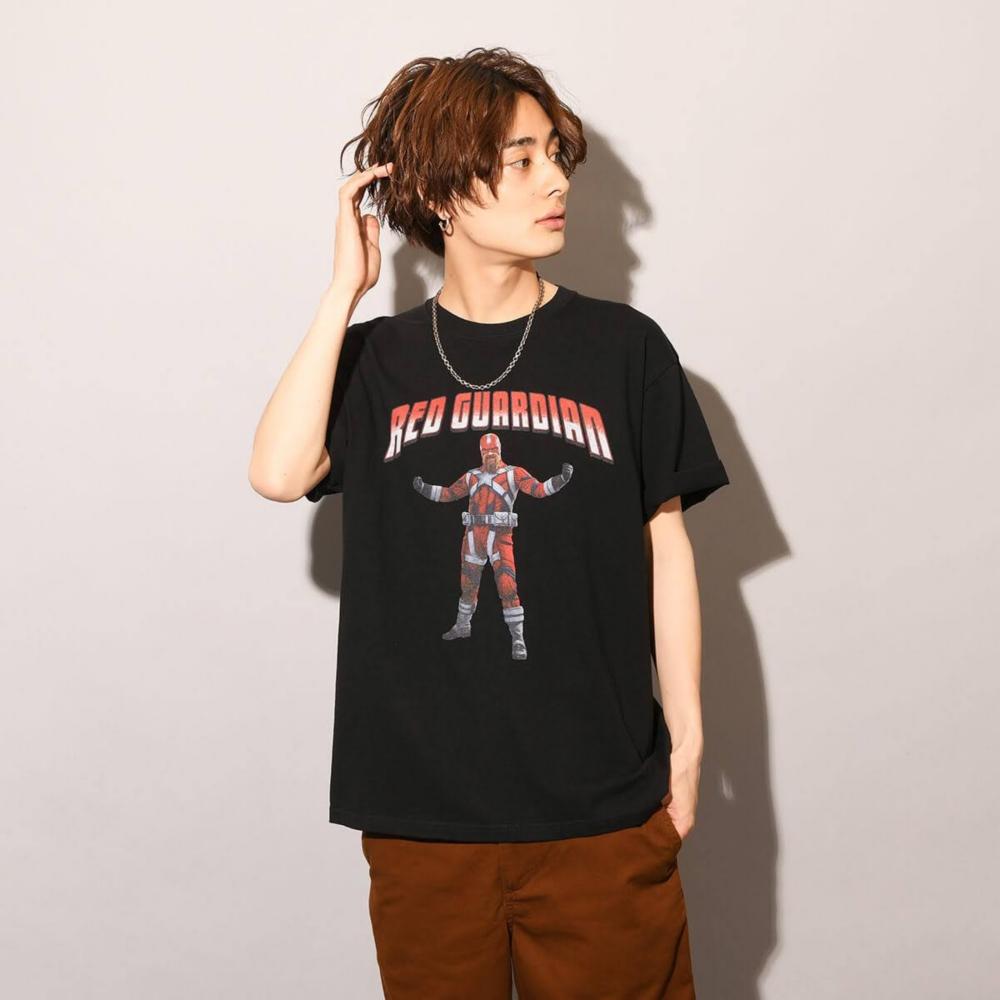 MARVEL/ブラック・ウィドウ/レッド・ガーディアン/Tシャツ(PONEYCOMB TOKYO)