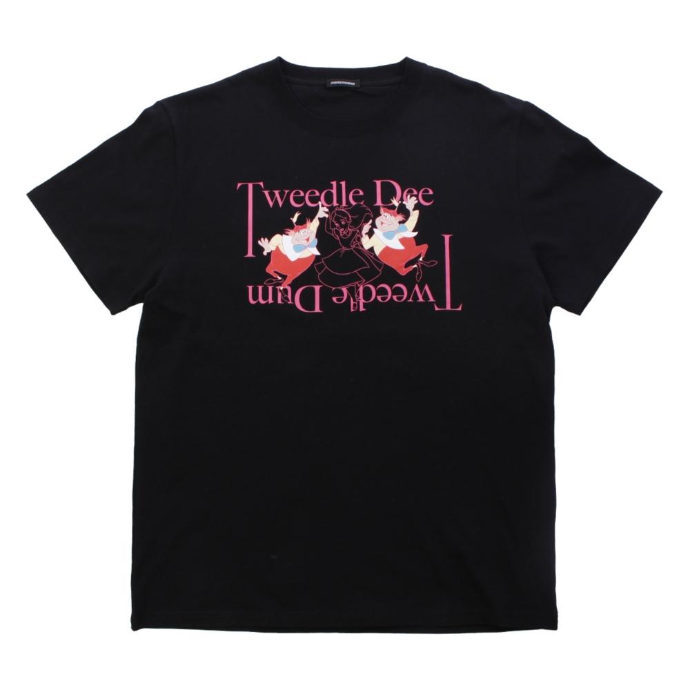 ふしぎの国のアリス/トゥイードル・ディーとトゥイードル・ダム/Tシャツ