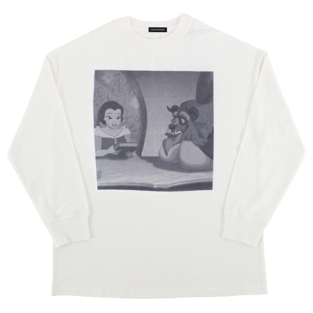 美女と野獣/ロングスリーブTシャツ
