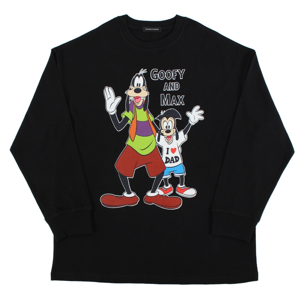 グーフィー&マックス/ロングスリーブTシャツ