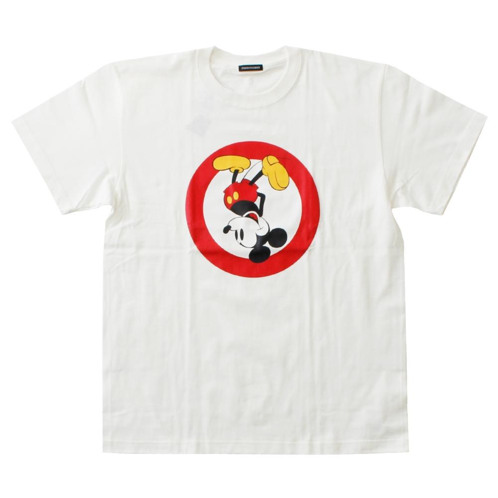 ミッキーマウス/サークルTシャツ