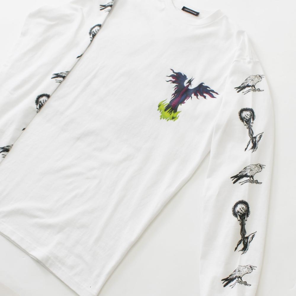 眠れる森の美女/マレフィセント/ロングスリーブTシャツ(PONEYCOMB TOKYO)