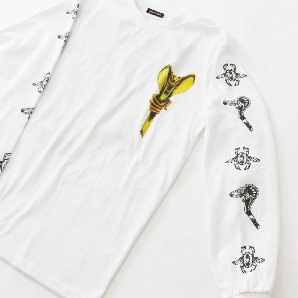 アラジン/ジャファー/ロングスリーブTシャツ(PONEYCOMB TOKYO)