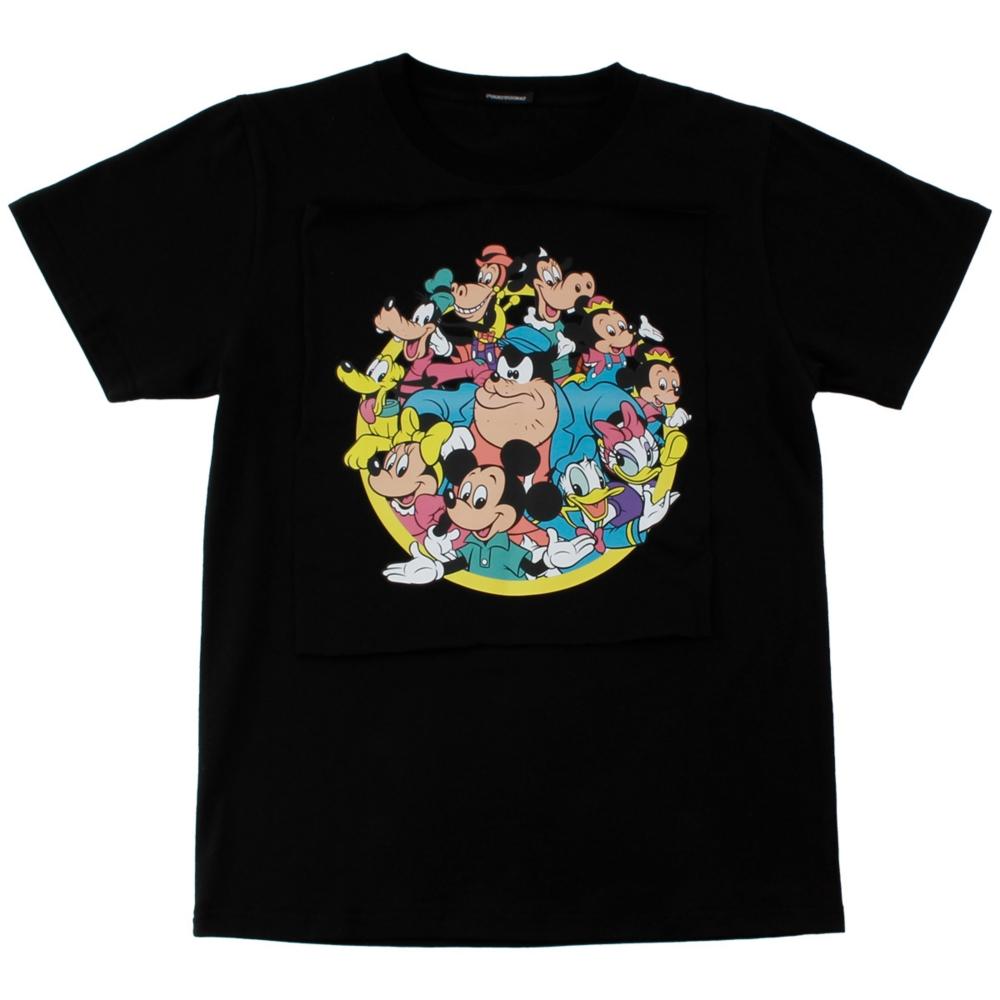 ミッキー&フレンズ/サークルデザインTシャツ(PONEYCOMB TOKYO)