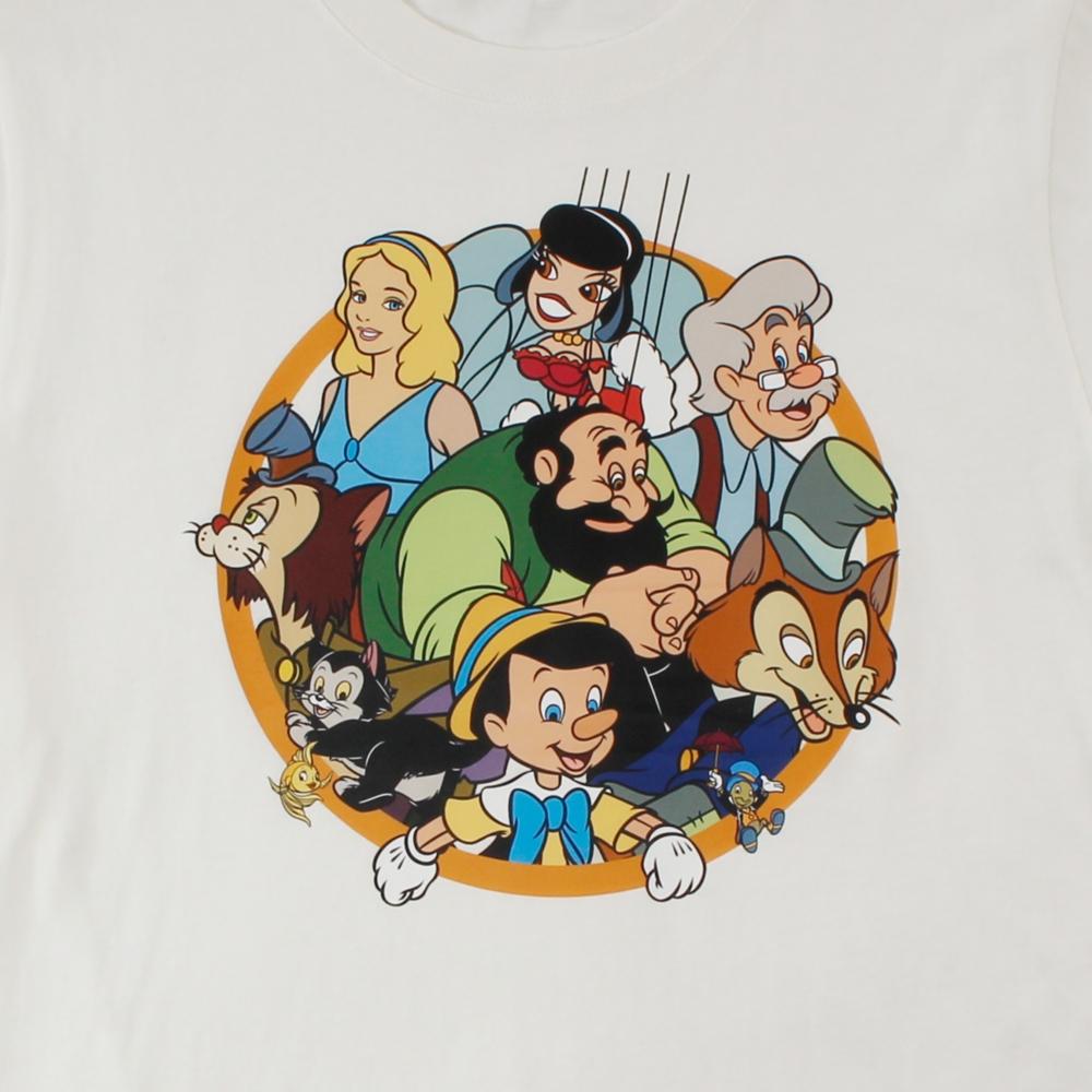 ピノキオ/サークルデザインTシャツ(PONEYCOMB TOKYO)
