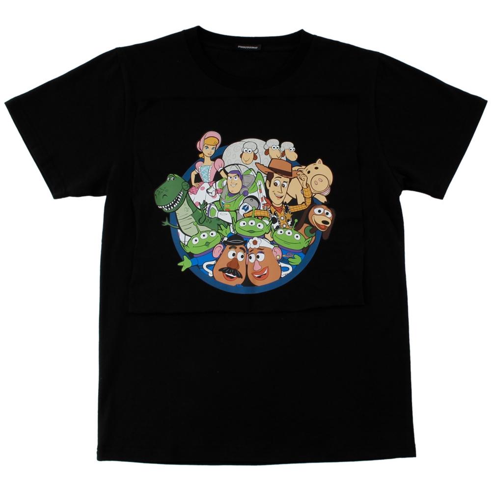 トイ・ストーリー/サークルデザインTシャツ(PONEYCOMB TOKYO)