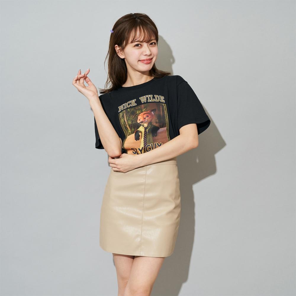 ズートピア/ニック・ワイルド/Tシャツ(PONEYCOMB TOKYO)