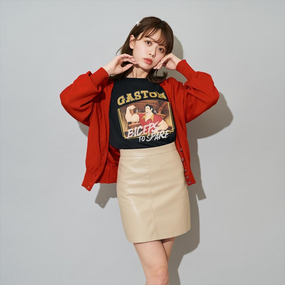美女と野獣/ガストン/Tシャツ(PONEYCOMB TOKYO)