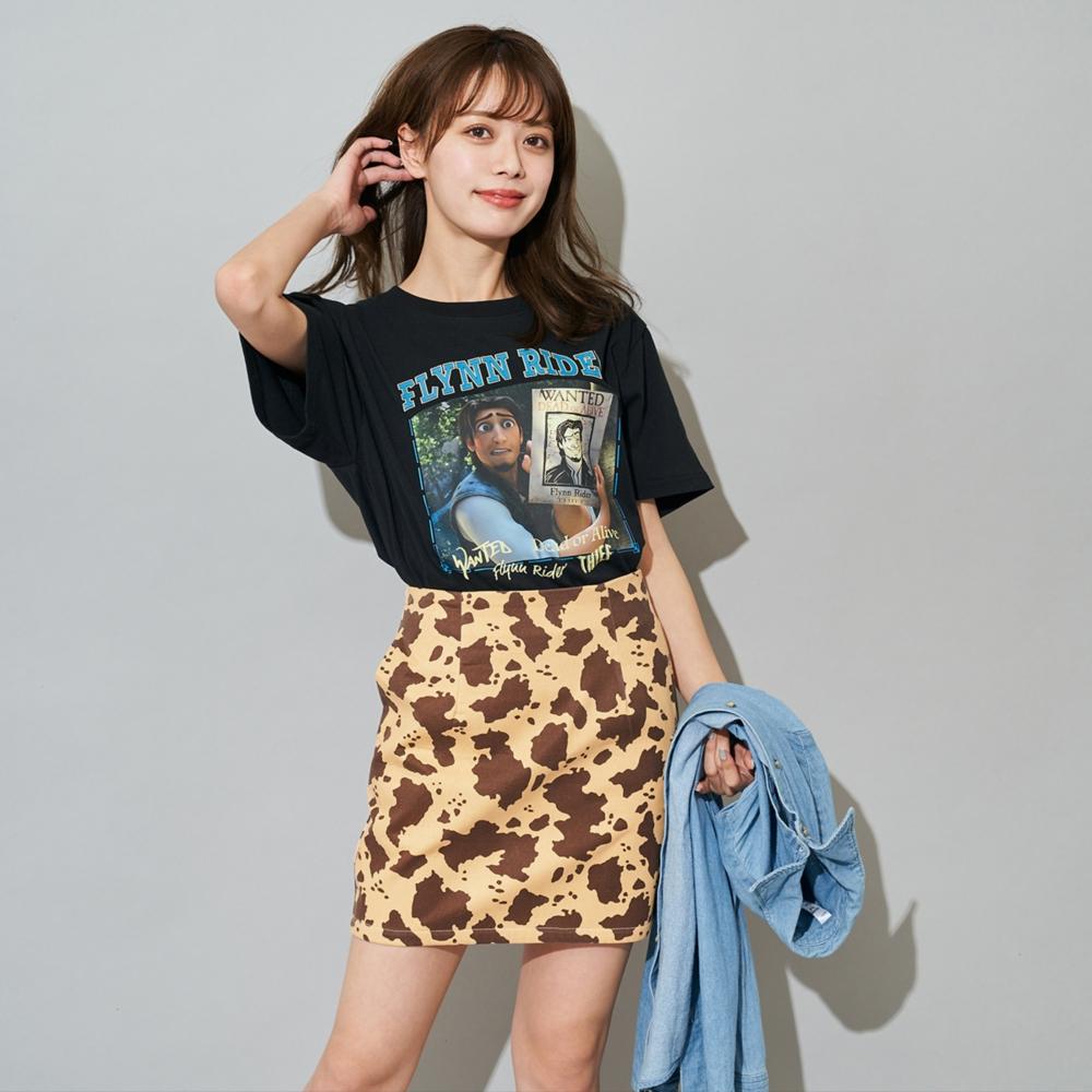 塔の上のラプンツェル/フリン・ライダー/Tシャツ(PONEYCOMB TOKYO)