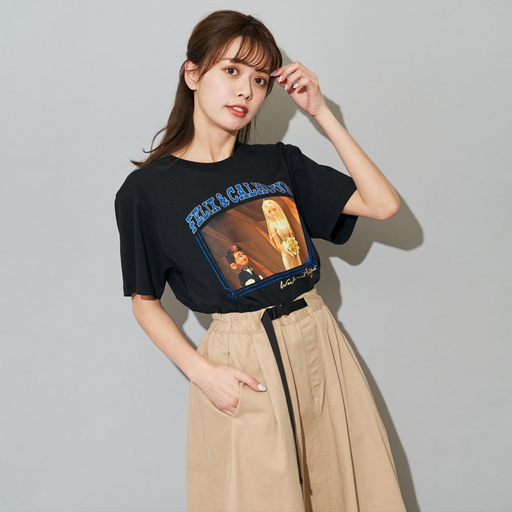 シュガー・ラッシュ/フェリックス&カルホーン軍曹/Tシャツ(PONEYCOMB TOKYO)