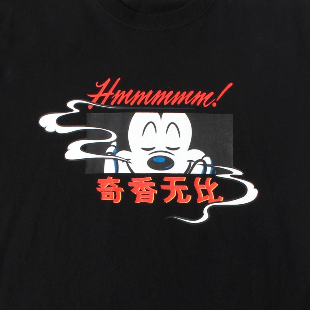 ミッキーマウス/チャイナ風グラフィックTシャツ D