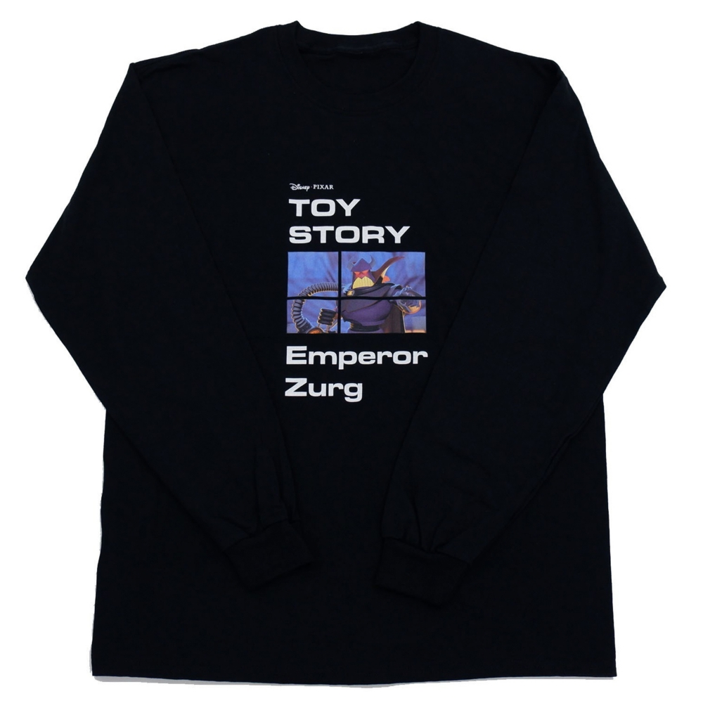 トイ・ストーリー/エンペラーザーグ/ロングスリーブTシャツ(4GEEKs by SPIRALGIRL)