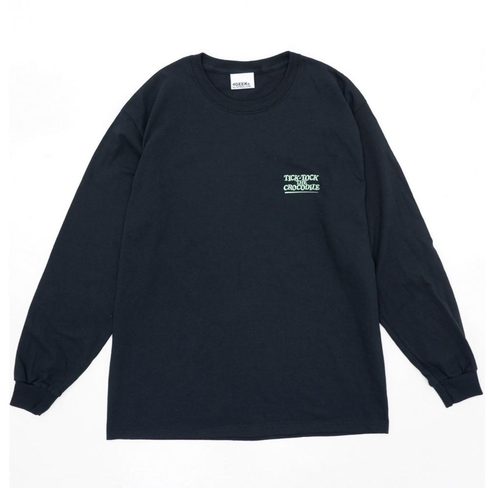 ピーター・パン/ワニ/ロングスリーブTシャツ(4GEEKs by SPIRALGIRL)