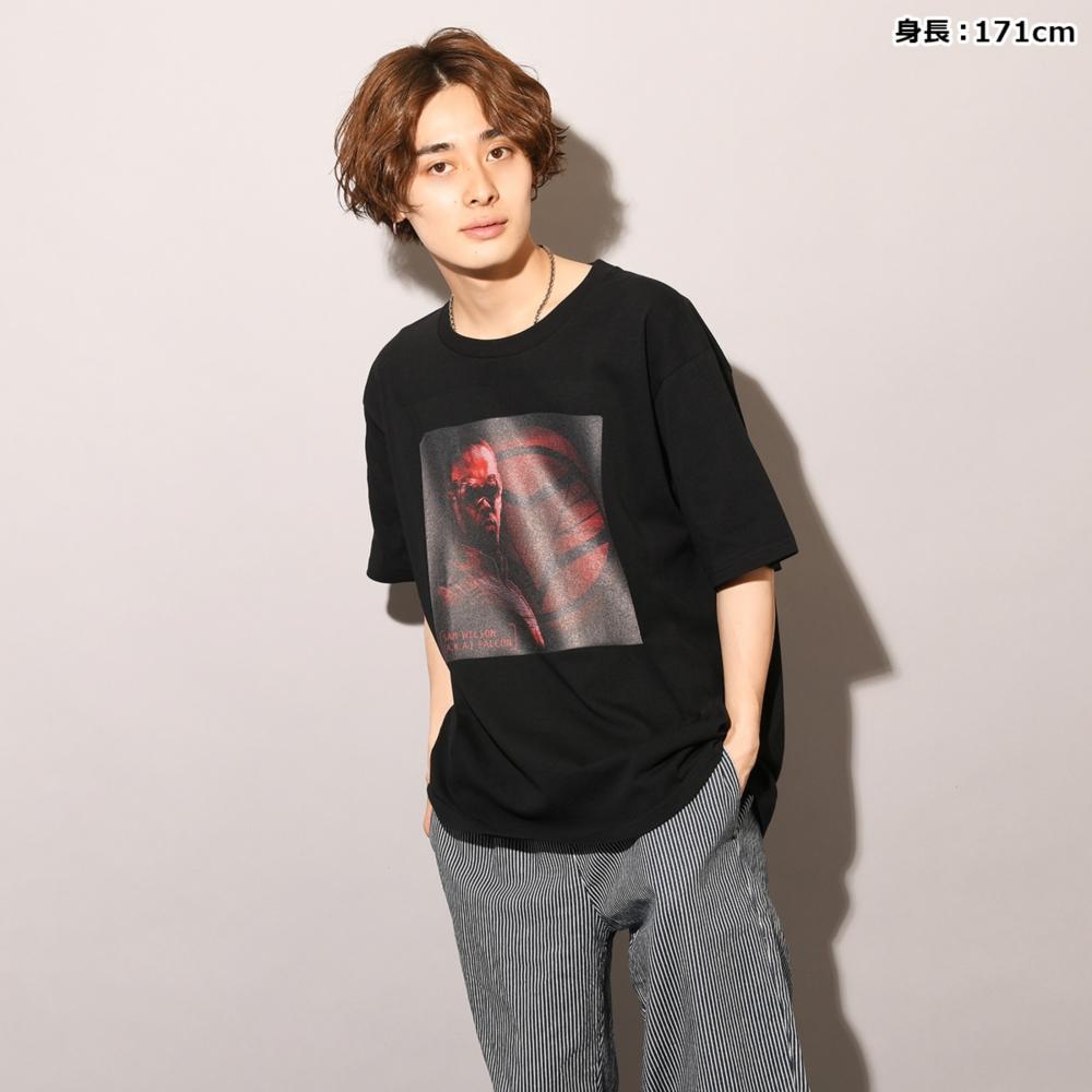 MARVEL/ファルコン&ウィンター・ソルジャー/ファルコン=サム・ウィルソン/Tシャツ(PONEYCOMB TOKYO)