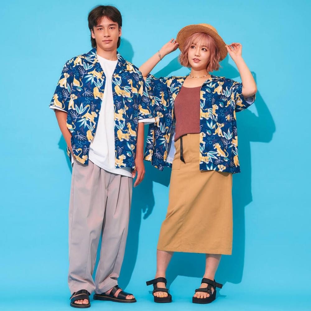 ライオン・キング/シンバ/アロハシャツ(PONEYCOMB TOKYO)