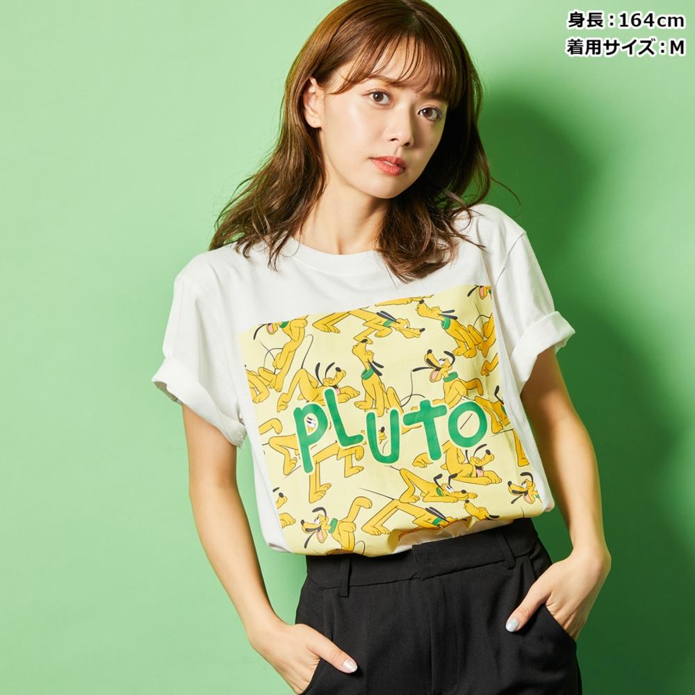 プルート/柄プリントTシャツ(PONEYCOMB TOKYO)