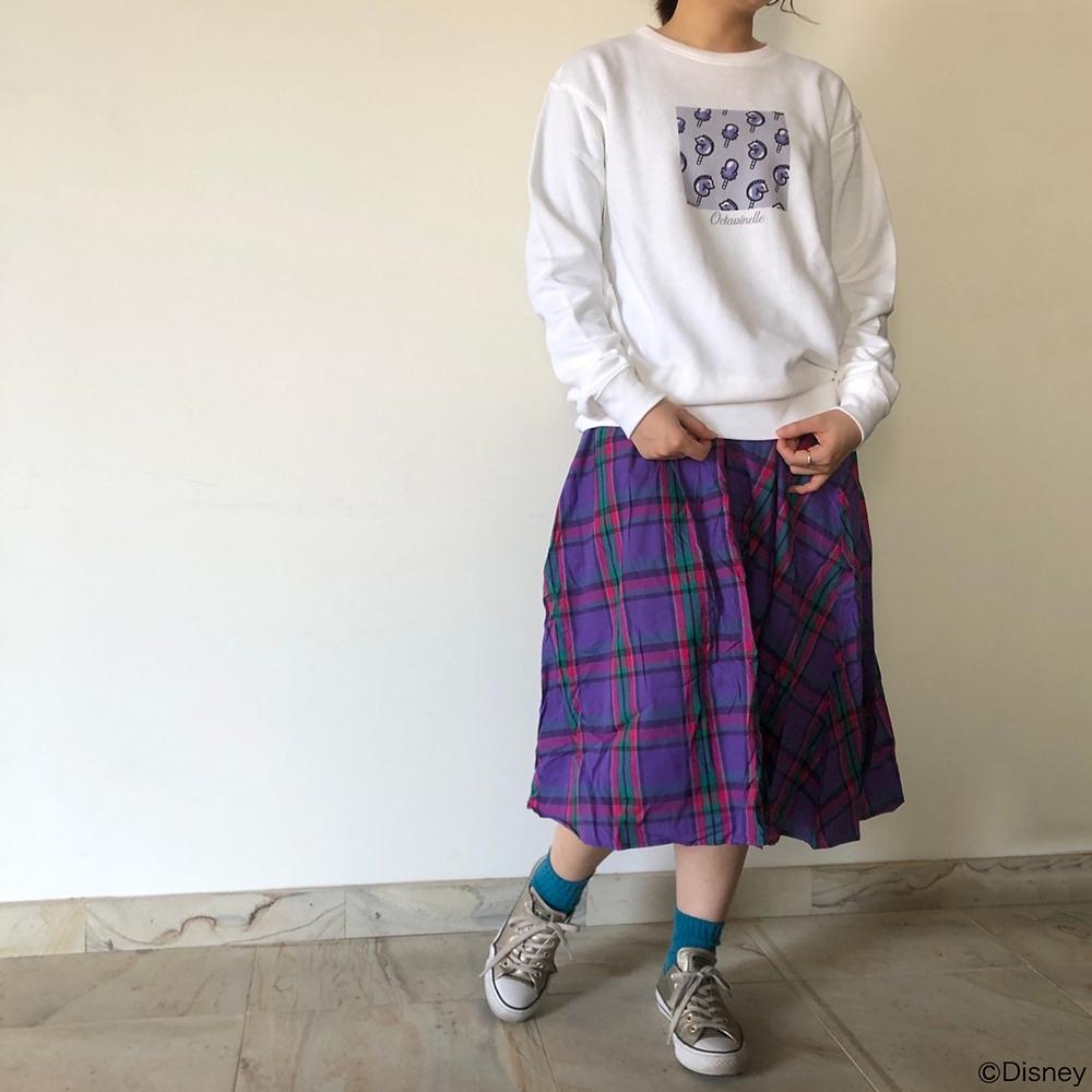 【キャラチョイ】ツイステ/オクタヴィネル寮/キャンディ総柄スウェット