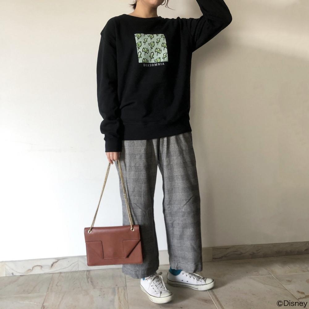 【キャラチョイ】ツイステ/ディアソムニア寮/キャンディ総柄スウェット