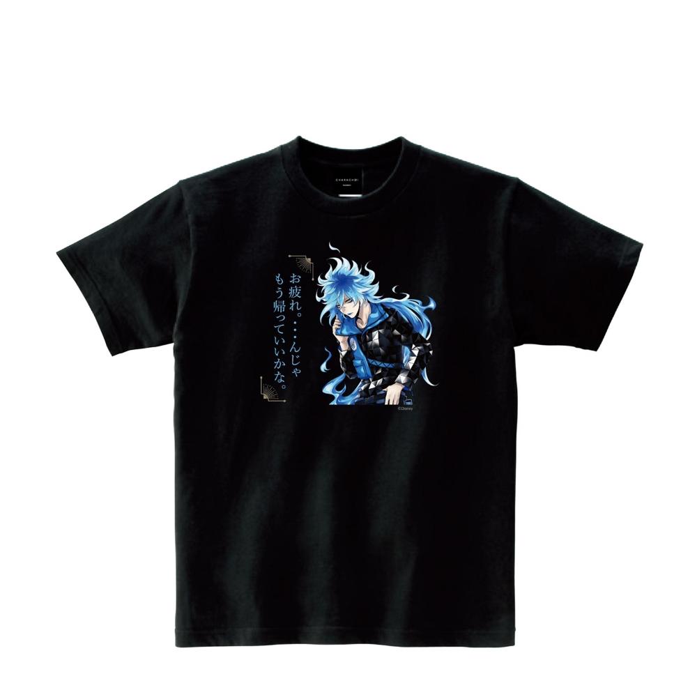 CHTW007TA/ツイステ/イデア/セリフTシャツ(ブラック)