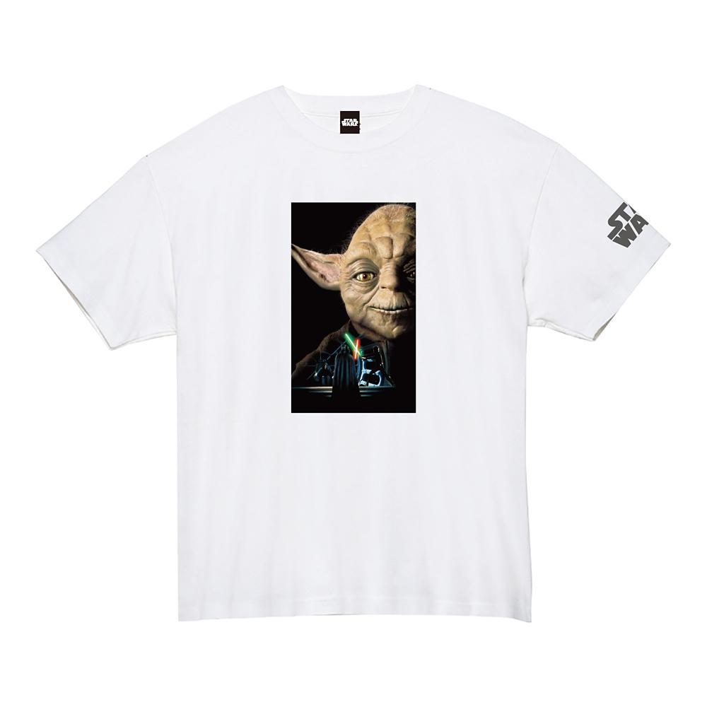 蓄光ロゴTシャツ ヨーダ