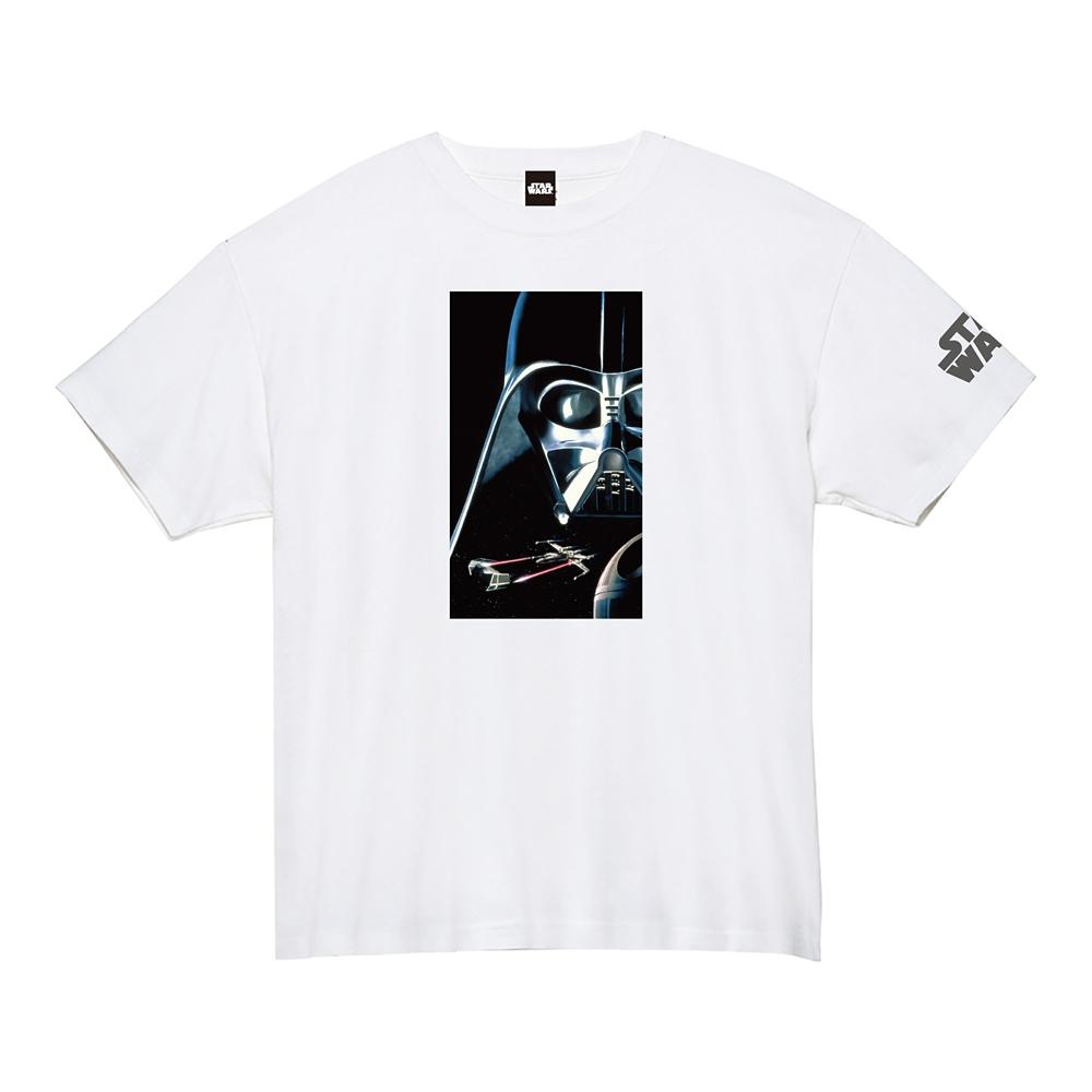 蓄光ロゴTシャツ ダース・ベイダー