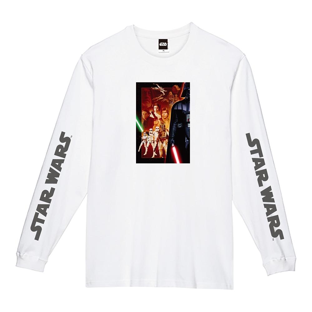 蓄光ロゴロングスリーブTシャツ 集合