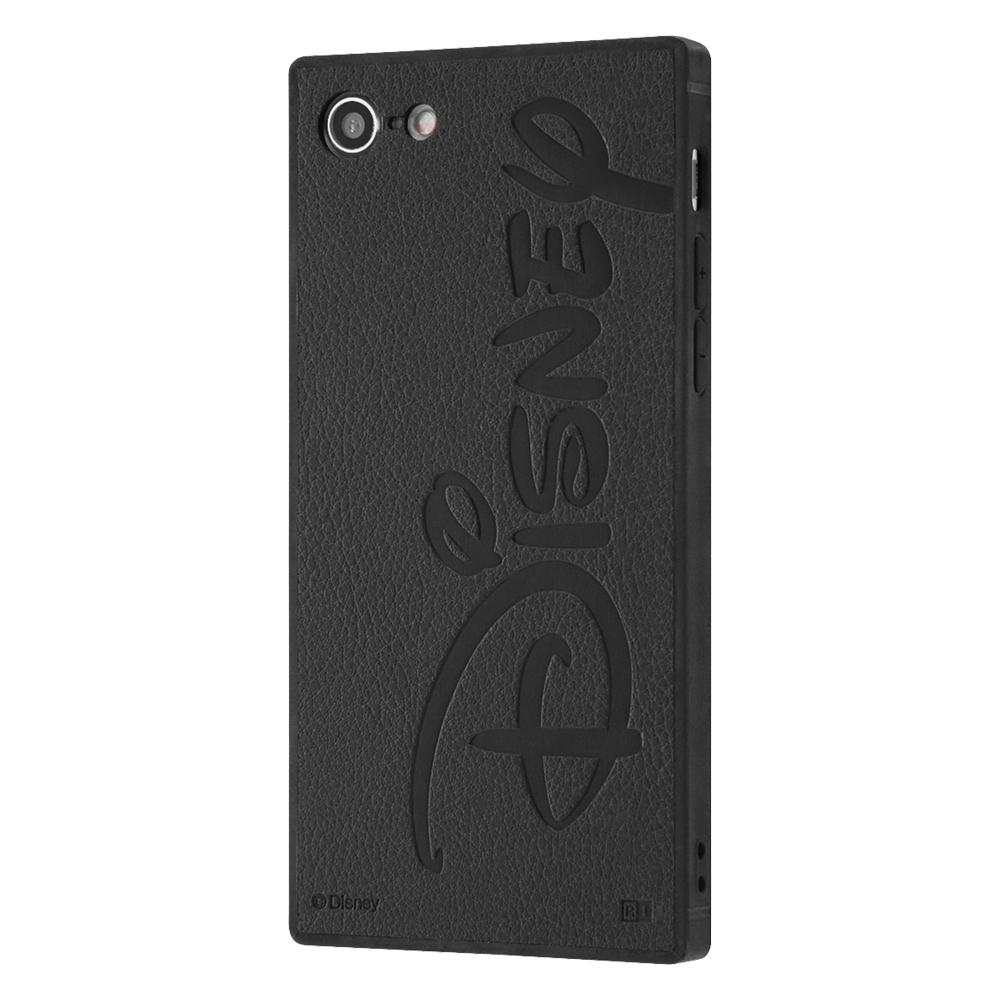 iPhone 12 Pro/12/『Disney LOGO COLLECTION』/耐衝撃オープンレザーケース KAKU/ディズニーロゴ/スタンダード