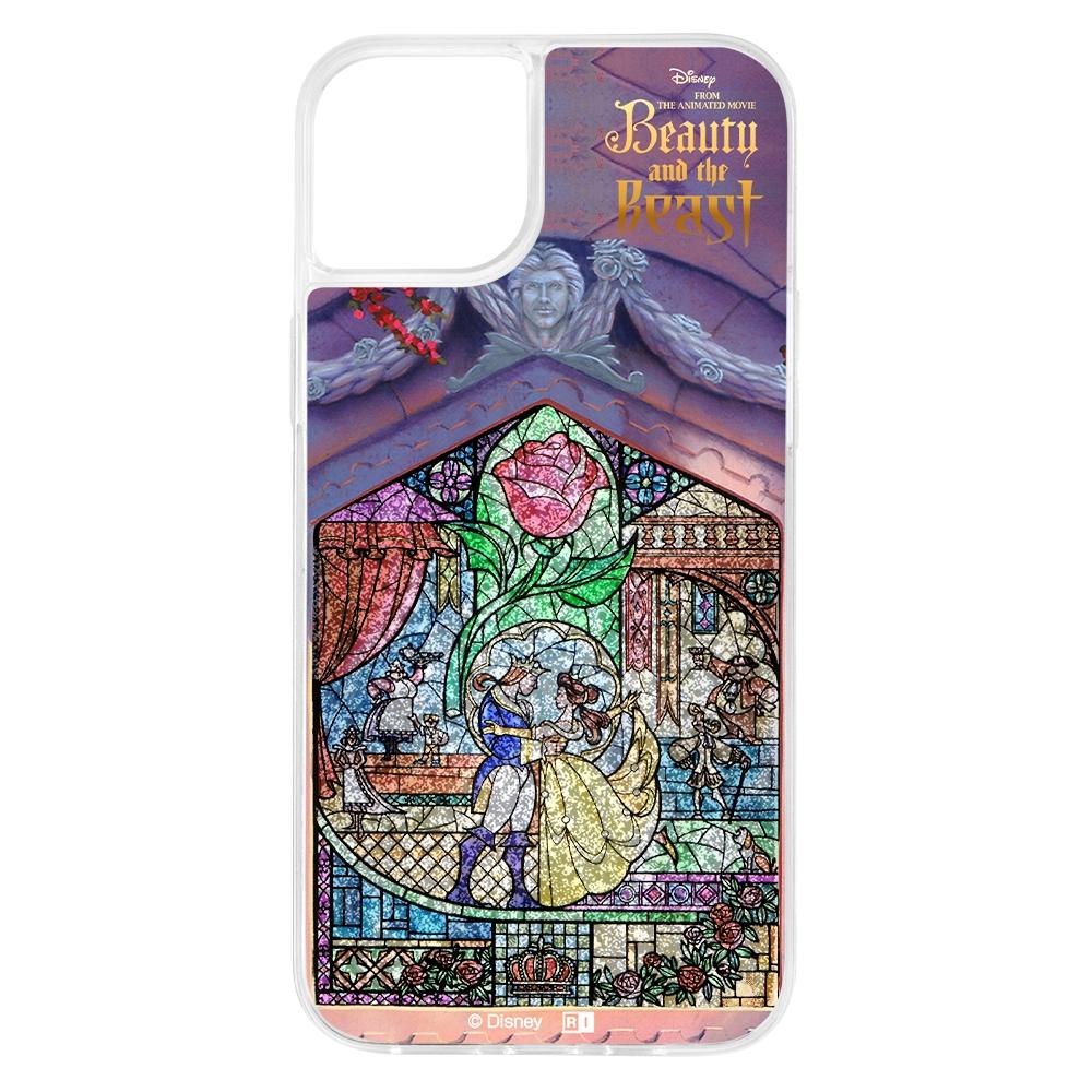 『ディズニーキャラクター』/ラメ グリッターケース/ステンドグラス【受注生産】
