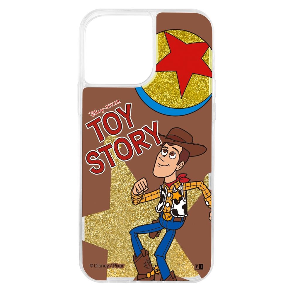 『ディズニー・ピクサーキャラクター』/ラメ グリッターケース/ウッディ【受注生産】
